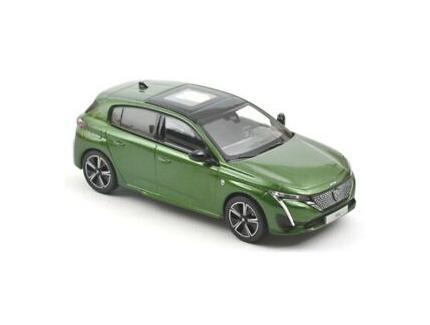Peugeot 308 2021 Verte Norev 1/43°