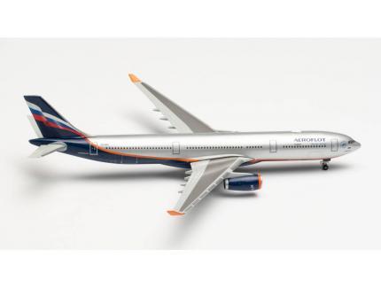 AIRBUS A330-300 AEROFLOT HERPA 1/500°