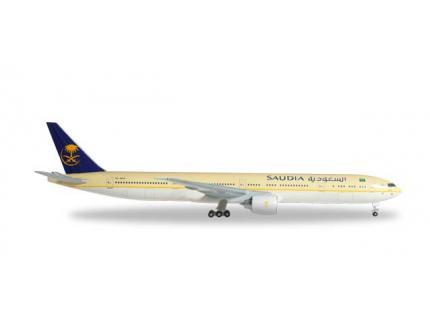 BOEING 777-300ER SAUDIA HERPA 1/500°