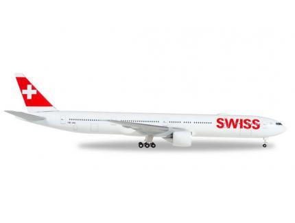 BOEING 777-300ER SWISS HERPA 1/500°