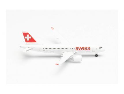AIRBUS A220-100 SWISS INTERNATIONAL HERPA 1/200°