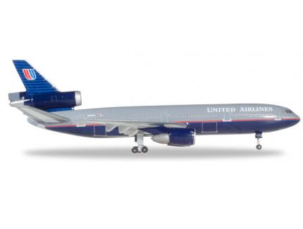 MC-DONNELL DOUGLAS DC-10-30 UNITED HERPA 1/500°