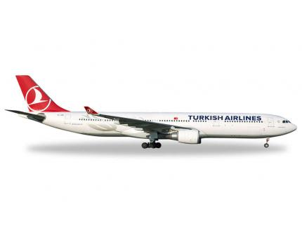 AIRBUS A330-300 TURKISH AIRLINES HERPA 1/500°