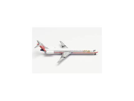 MCDONNEL DOUGLAS MD-83 TWA HERPA 1/500°