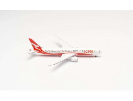 BOEING 787-9 QANTAS 100TH ANNIVERSARY HERPA 1/500°