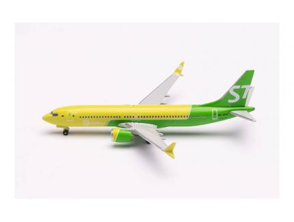 BOEING 737 MAX 8 S7 AIRLINES HERPA 1/500°