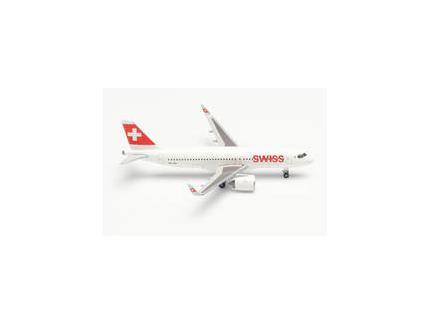 AIRBUS A320NEO SWISS AIRLINES HERPA 1/500°