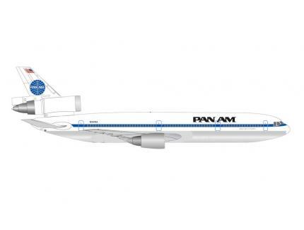 MCDONNEL DOUGLAS DC-10-30 PANAM HERPA 1/500°