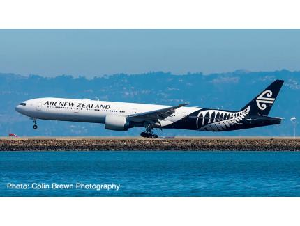BOEING 777-300ER AIR NEW ZEALAND HERPA 1/500°