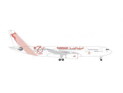 AIRBUS A330-200 TUNISAIR HERPA 1/500°