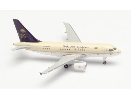 AIRBUS A318 SAUDIA ROYAL FLIGHT HERPA 1/500°