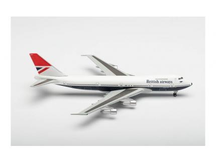 BOEING 747-100 BRITISH AIRWAYS HERPA 1/500°