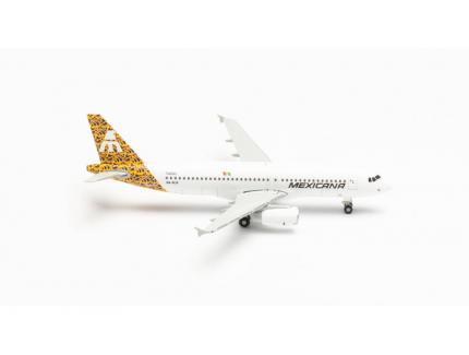 AIRBUS A320 MEXICANA DE AVACION HERPA 1/500°
