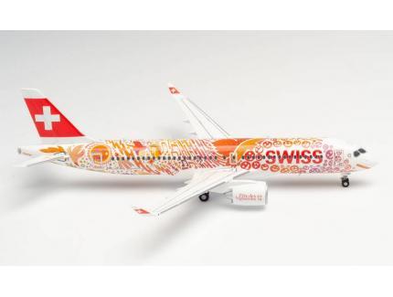 AIRBUS A220-300 SWISS HERPA 1/200°