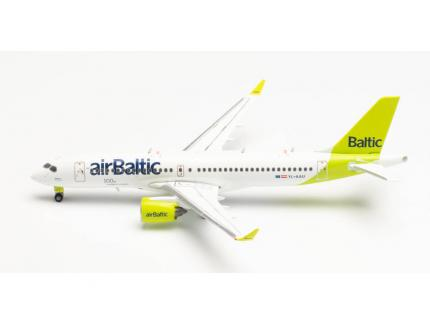 AIRBUS A220-300 AIRBALTIC HERPA 1/500°