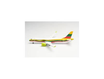 """AIRBUS A220-300 AIRBALTIC  """"LITHUANIA"""" HERPA 1/200°"""