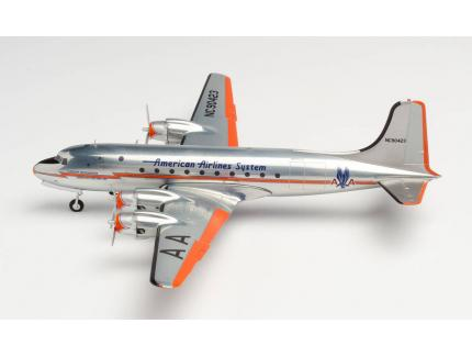 DOUGLAS DC-4 AMERICAN AIRLINES HERPA 1/200°