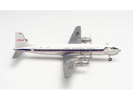 DOUGLAS DC-6B THAI AIRWAYS HERPA 1/200°