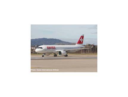 AIRBUS A320NEO SWISS HERPA 1/200°