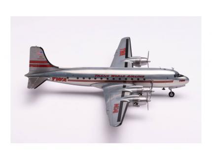TWA TRANS WORLD AIRLINE DOUGLAS DC-4 HERPA 1/200°
