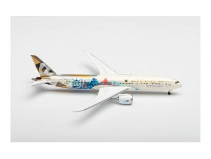 "BOEING 787-9 DREAMLINER ""CHOOSE THE USA"" HERPA 1/500°"