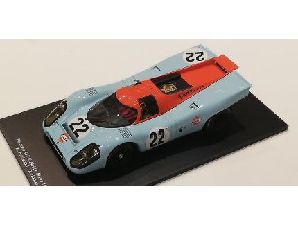 PORSCHE 917K GULF N°22 LM1970 SPARK 1/18°