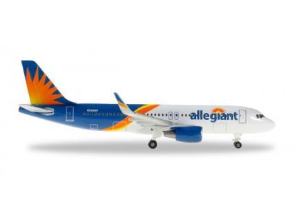 AIRBUS A320 ALLEGIANT HERPA 1/500°