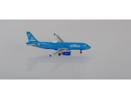 "AIRBUS A320 ""BLUERICUA"" JETBLUE HERPA 1/500°"