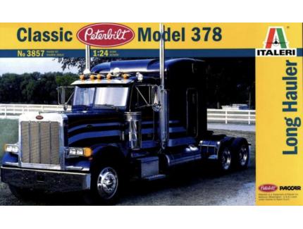 CLASSIC PETERBILT MODEL 378 LONG HAULER ITALERI 1/24°