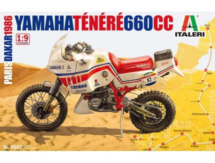 YAMAHA TENERE 660CC ITALERI 1/9°