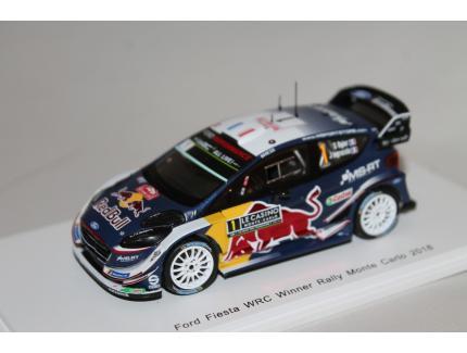FORD FIESTA WRC WQ MONTE CARLO 2018 SPARK 1/43°