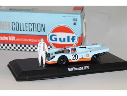 PORSCHE 917K GULF STEVE McQUEEN 1971 GREENLIHT 1/43°