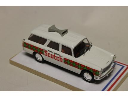 PEUGEOT 404 BREAK SCOTCH TDF 1966 AUTORECLAME 1/43°