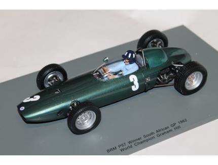 BRM P57 N°3 WORLD CHAMPION 1962 SPARK 1/18°
