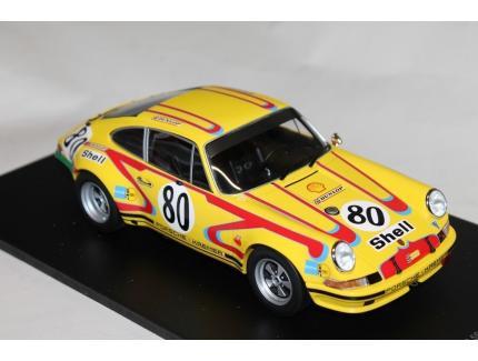 PORSCHE 911 2.5S N°80 LM 1972 SPARK 1/18°