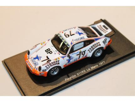 PORSCHE 911RS N°79 1977 SPARK 1/43°