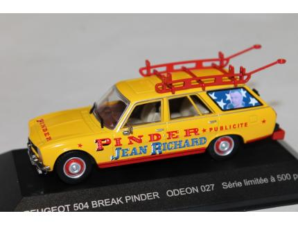 PEUGEOT 504 BREAK PINDER ODEON 1/43°