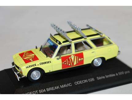 PEUGEOT 504 BREAK MAVIC ODEON 1/43°