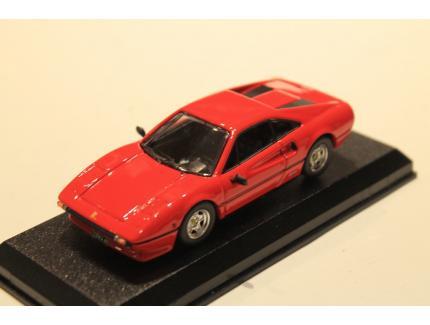 FERRARI 308 GTB ROUGE STRADALE 1975 BEST 1/43°