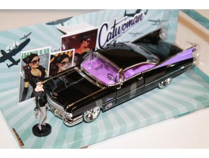 CADILLAC COUPE DEVILLE CATWOMAN 1959 JADA 1/24°