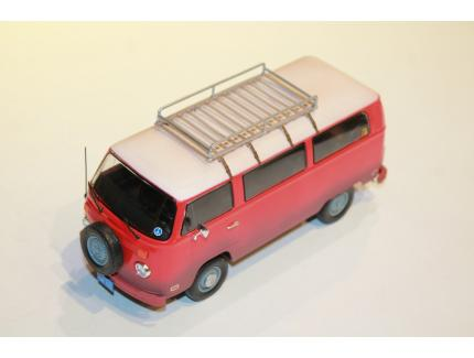 "VOLKSWAGEN TYPE 2 ""LITTLE MISS SUNSHINE"" 1978 GREENLIGHT 1/24°"