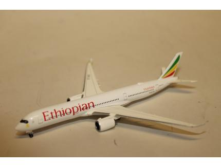 AIRBUS A350-900 ETHIOPIAN AIRLINES HERPA 1/500°