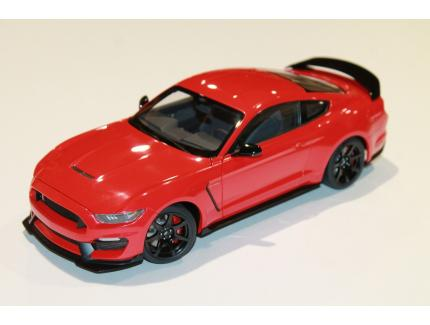 FORD MUSTANG SHELBY GT-350R ROUGE 2019 AUTO ART 1/18°