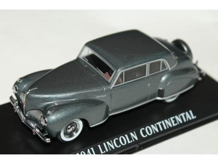 LINCOLN CONTINENTAL GRISE 1941 GREENLIGHT 1/43°