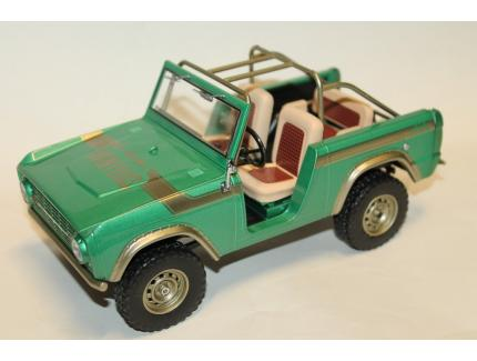 FORD BRONCO VERT 1976 GREENLIGHT 1/18°