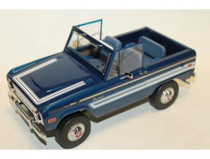 FORD BRONCO EXPLORER BLEU 1976 GREENLIGHT 1/18°