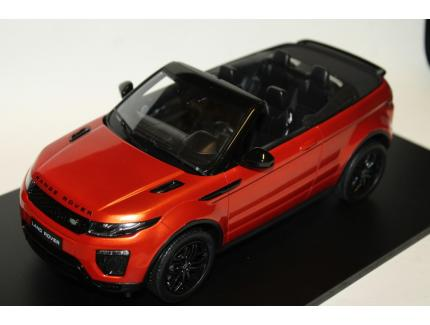 RANGE ROVER EVOQUE CONVERTIBLE ORANGE TOP SPEED 1/18°