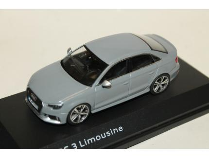 AUDI RS3 LIMOUSINE GRISE 2017 ISCALE 1/43°