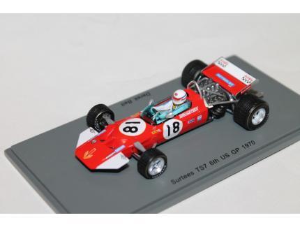 SURTEES TS7 N°18 US GP 1970 SPARK 1/43°