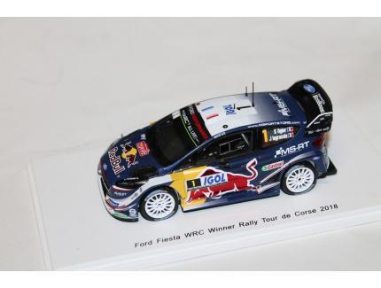 FORD FIESTA WRC N°1 TOUR DE CORSE 2018 SPARK 1/43°